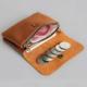 Mini portefeuille en cuir vintage